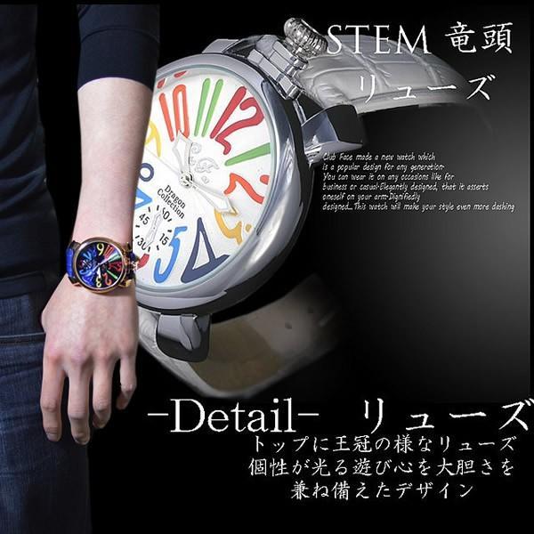 メンズ 腕時計 クラブフェイス Club Face 人気 ブランド スムースタイプ CF-9000RT レビューを書いて送料無料|remake|04