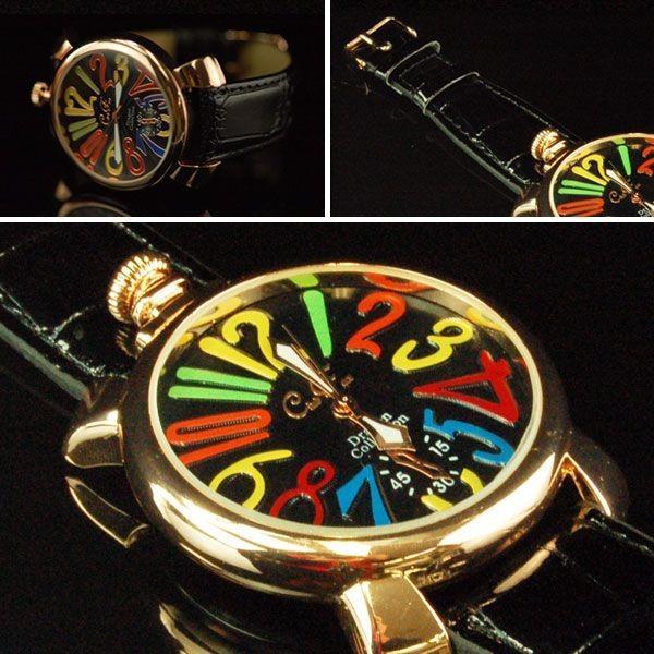 腕時計 メンズ 革ベルト メンズ腕時計 クラブフェイス CF-9000SM マルチタイプ レビューを書いて送料無料|remake|02