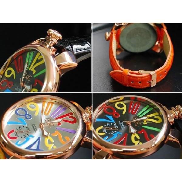 腕時計 メンズ 革ベルト メンズ腕時計 クラブフェイス CF-9000SM マルチタイプ レビューを書いて送料無料|remake|05
