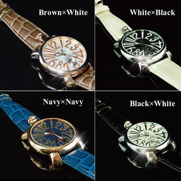 腕時計 メンズ クラブフェイス メンズ腕時計 革 CF-9000SM プレーンタイプ レビューを書いて送料無料 remake 03