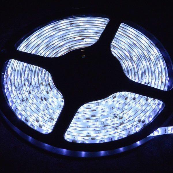 イルミネーション LED テープ テープライト チューブ 店舗用5m 60シリーズ ホワイト 100V対応アダプター付|remake|02
