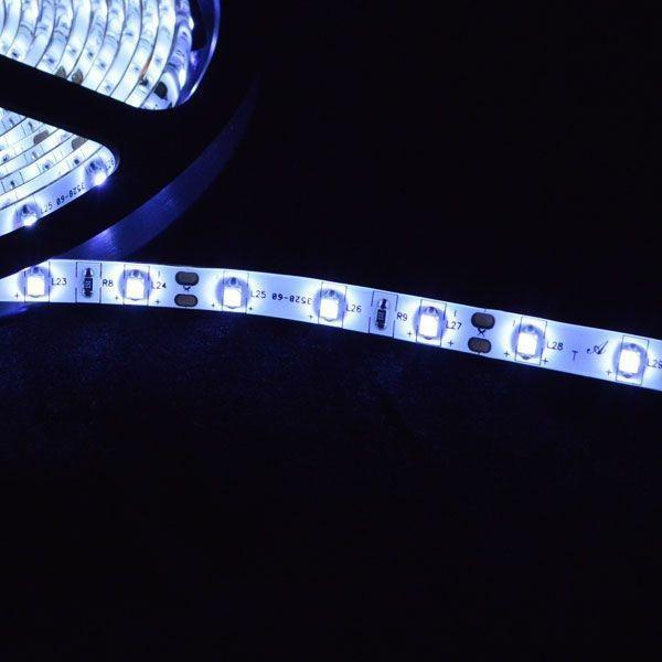 イルミネーション LED テープ テープライト チューブ 店舗用5m 60シリーズ ホワイト 100V対応アダプター付|remake|03