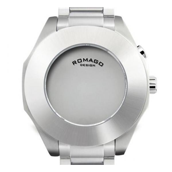腕時計 メンズ レディース 兼用 ROMAGO DESIGN ロマゴ HARMONY ハーモニー ステンレスベルト RM003-1513SS-SV 送料無料|remake|02