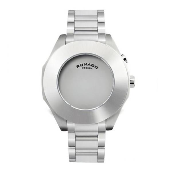 腕時計 メンズ レディース 兼用 ROMAGO DESIGN ロマゴ HARMONY ハーモニー ステンレスベルト RM003-1513SS-SV 送料無料|remake|04