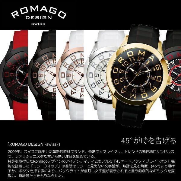 腕時計 メンズ 人気 ブランド ROMAGO ロマゴ スイスデザイン アトラクションシリーズ RM015-0162 送料無料|remake|03