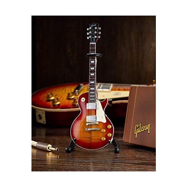 ミニチュアギターギブソン1959LesPaulStandardCherrySunburstAXEHEAVENGibso