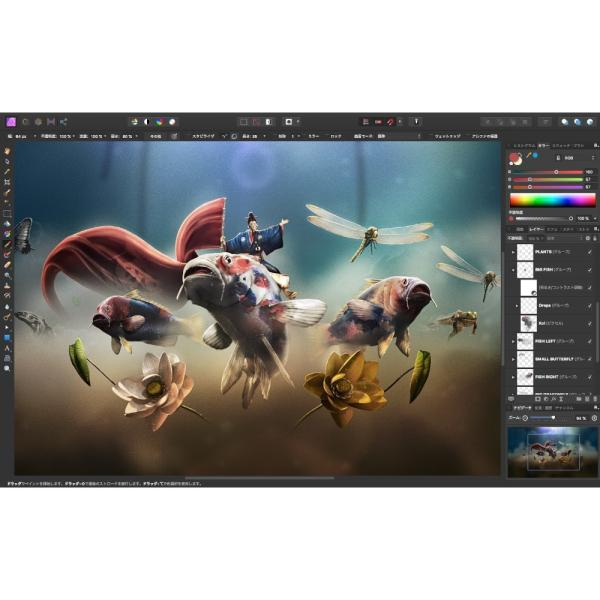 Affinity Photo ダウンロード版 画像加工 写真 Windows Mac 動画、画像、音楽ソフト|reneeds|04