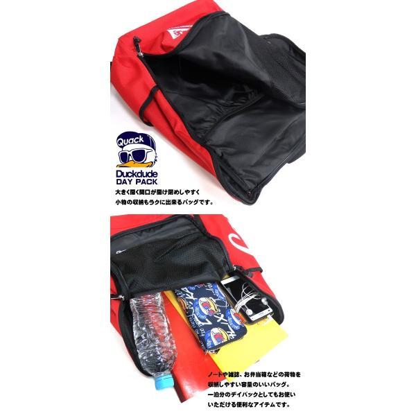 DUCK DUDE リュック 広島東洋カープ ダックデュード コラボ デイパック バックパック アヒルバッグ ビーワンソウル カバン BAG-079