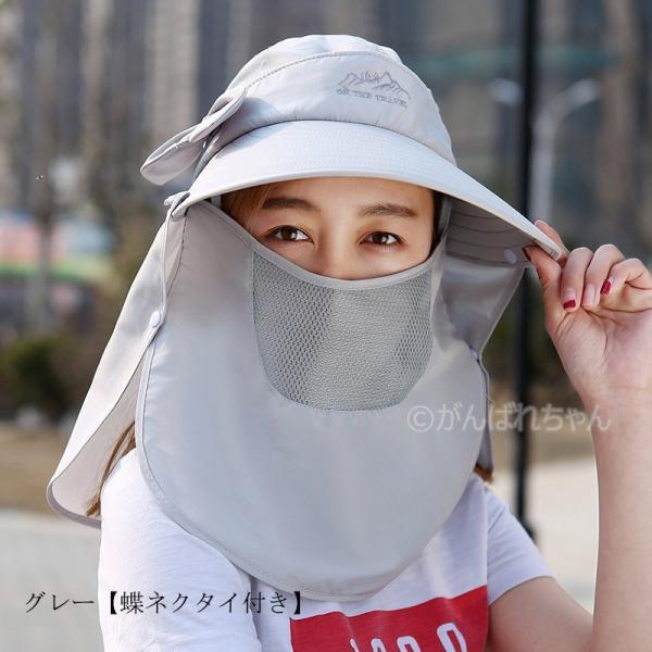 レディース つば広帽子 UVカットハット 紫外線対策 サンバイザー 取外し可 折畳み可 母の日 日焼け止め オシャレ 大人気 アウトドア 春夏秋 おしゃれ|rensei|18