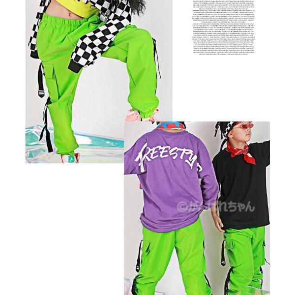 【ダンスパンツ】ボトムス パンツ ダンス衣装 キッズ ダンス衣装 パンツ HIPHOP ダンス 衣装 男の子 女の子 ヒップホップ JAZZ キッズ ダンス 衣装 練習着|rensei|03