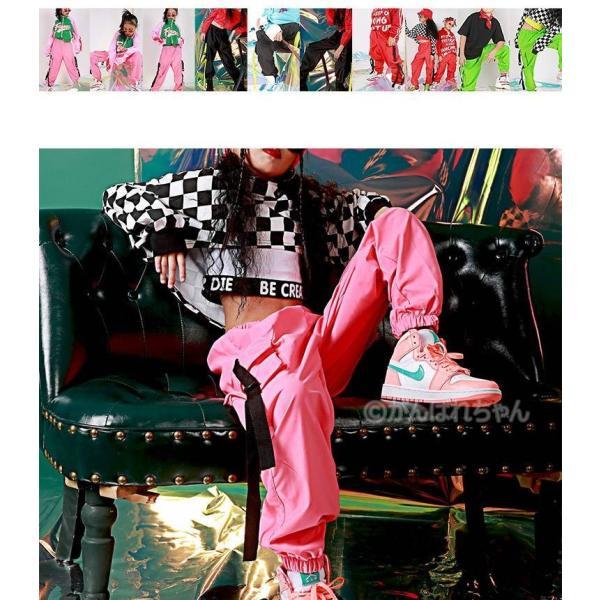 【ダンスパンツ】ボトムス パンツ ダンス衣装 キッズ ダンス衣装 パンツ HIPHOP ダンス 衣装 男の子 女の子 ヒップホップ JAZZ キッズ ダンス 衣装 練習着|rensei|05