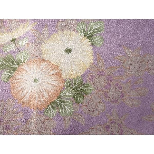 羽織 レンタル オプション レディース 紫 菊|rental-kimono|03