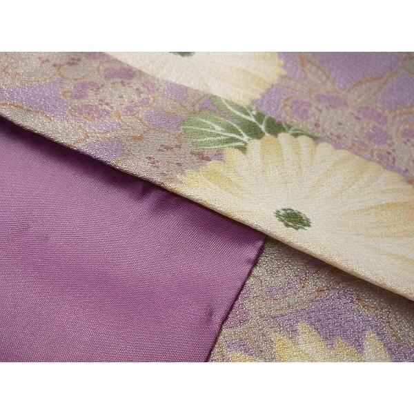 羽織 レンタル オプション レディース 紫 菊|rental-kimono|04