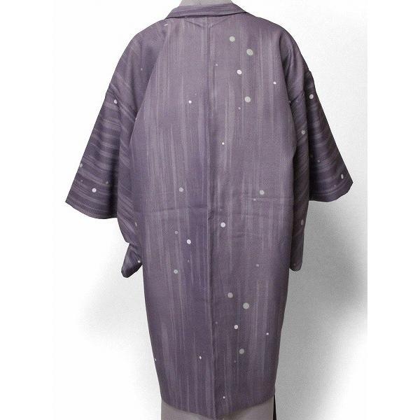 羽織 レンタル オプション レディース 紫 水玉散らし rental-kimono 02