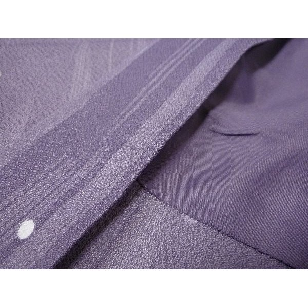 羽織 レンタル オプション レディース 紫 水玉散らし rental-kimono 04
