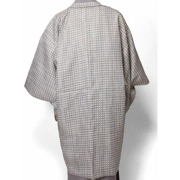 羽織 レンタル オプション レディース 白ピンク格子 rental-kimono 02