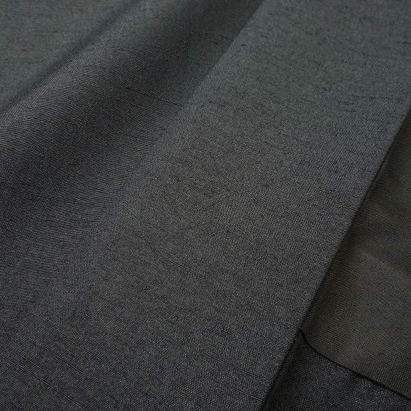 男性 着物+羽織 レンタル セット Mサイズ メンズ 黒/グレー rental-kimono 05