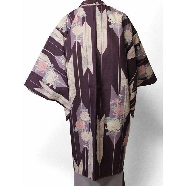 羽織 レンタル オプション レディース 紫矢絣|rental-kimono|02
