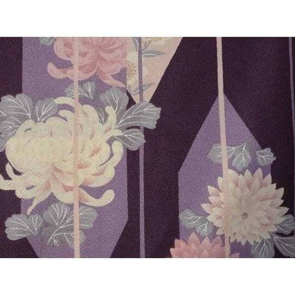 羽織 レンタル オプション レディース 紫矢絣|rental-kimono|03