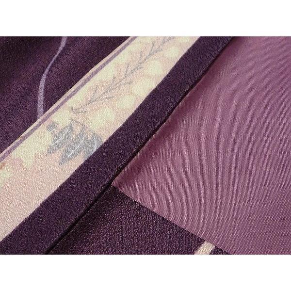 羽織 レンタル オプション レディース 紫矢絣|rental-kimono|04