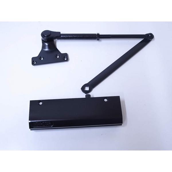 ニュースター ドアクローザー ドアチェック PS5002 PS-5002 ブラック色 ストップ付 ☆☆NS NEWSTAR ニュースター☆PS5002