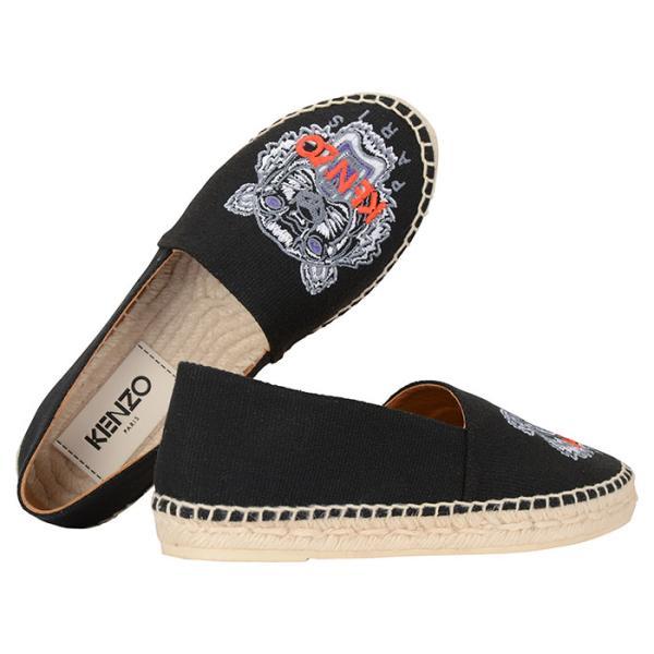 【3色】ケンゾー エスパドリーユ スリッポン レディース 靴 シューズ KENZO Espadrilles F852ES180F70