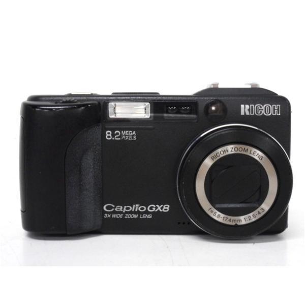 【中古】 中古 RICOH Caplio GX8 リコー キャプリオ GX8 DW-4 レンズ付き カメラ  F2998224