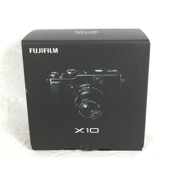 【中古】 中古 富士フィルム FUJIFILM X10 コンパクト デジタル カメラ コンデジ ブラック  K3952177
