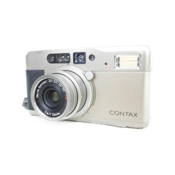 【中古】 京セラ CONTAX TVS 3.5-6.5 28-56mm DIGITAL コンパクト DIGITAL カメラ  N3203830