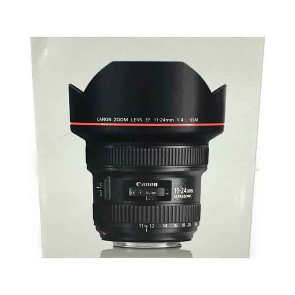 未使用 【中古】 Canon EF11-24mm F4L USM レンズ 超広角 ズーム 箱 付  T4162517