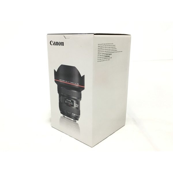 未使用 【中古】 CANON EF11-24mm F4L USM  EF レンズ 超広角 ズーム 箱 付 未使用  T4237952