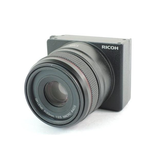 【中古】 RICOH リコー GR LENS A12 50mm F2.5 MACRO GXR用 ユニット 単焦点 レンズ ブラック Y2380654