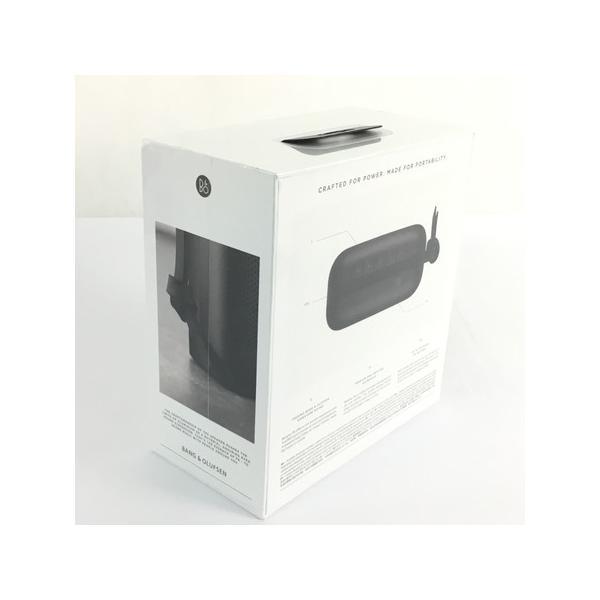 未使用 【中古】 B&O BeoPlay P6 Black ポータブル ブルートゥース スピーカー オーディオ 音響 機器  Y3889718