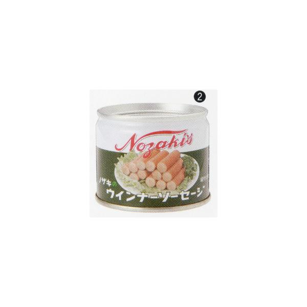 缶詰 ウインナーソーセージ 48缶     防災 非常食 備蓄用食料