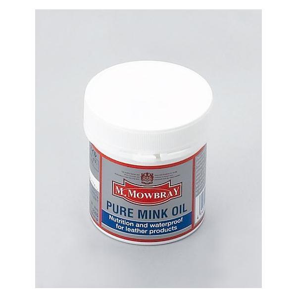 オイルドレザー 保革 M.MOWBRAY ピュアミンクオイル モーブレー モウブレイ  resources-shoecare