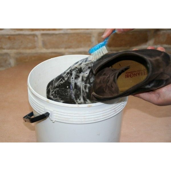 起毛皮革専用汚れ落とし 靴 手入れ M.モゥブレィ スエード&ヌバックシャンプー |resources-shoecare|05