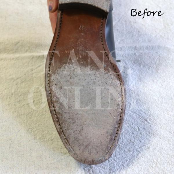 靴底 手入れ レザーソール M.モゥブレィ ソールモイスチャライザー135ml M.MOWBRAY モウブレイ|resources-shoecare|03