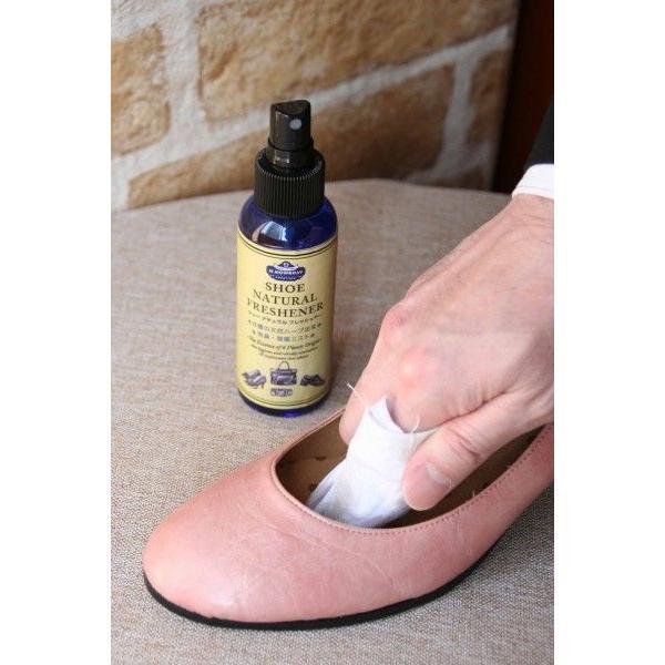 消臭除菌ミスト M.モゥブレィ プレステージ ナチュラルフレッシュナー 梅雨対策対象商品 靴 手入れ|resources-shoecare|04