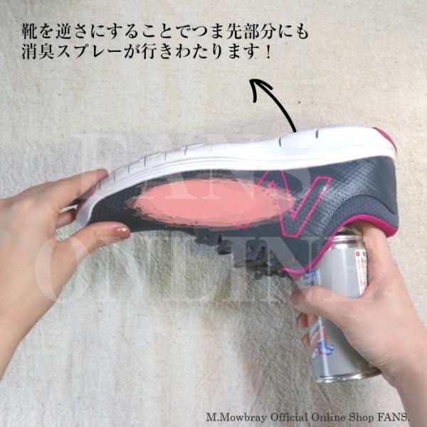 消臭 除菌スプレー M.モゥブレィ  シューフレッシュAg+ 梅雨対策対象商品 靴 手入れ resources-shoecare 03