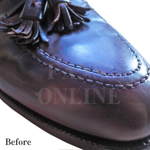 靴 手入れ コードヴァン ガラスレザー ツヤ出し M.モゥブレィ コードバンクリームレノベーター  resources-shoecare 02