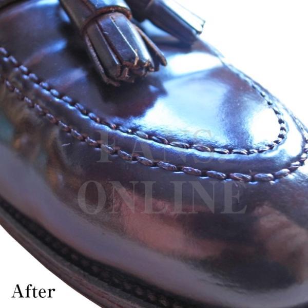 靴 手入れ コードヴァン ガラスレザー ツヤ出し M.モゥブレィ コードバンクリームレノベーター  resources-shoecare 03