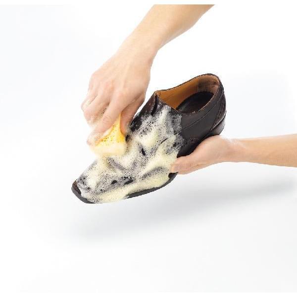 靴 手入れ 靴専用丸洗い石けん入り M.MOWBRAY(M.モゥブレィ) クリーニングセット 水洗い|resources-shoecare|04