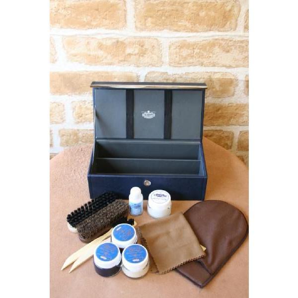 靴磨きセット M.モゥブレィ シューケアアズーロセット 送料無料 父の日ギフト 就職祝い シューケアセット|resources-shoecare|04