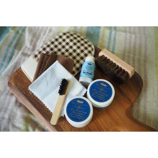 靴磨き女子部プロデュース Shoe Care Set 「Silky CUBE」パンプスお手入れ|resources-shoecare|02