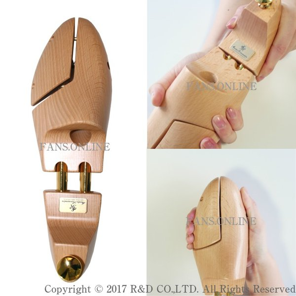 シューズキーパー 靴 手入れ シューツリー Sarto Recamier(サルトレカミエ) シュートリー SR100EX シューキーパー バネ式靴磨き |resources-shoecare|05