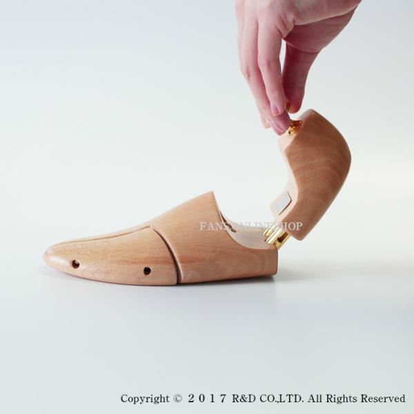 シューズキーパー 靴 手入れ シューツリー Sarto Recamier(サルトレカミエ) シュートリー SR100EX シューキーパー バネ式靴磨き |resources-shoecare|06