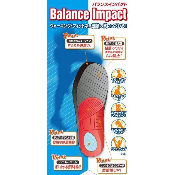 バランスインパクト 訳ありSALE 中敷き インソール ウォーキング・フィットネスに最適 club VINACTIVE |resources-shoecare|06