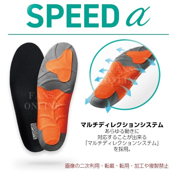 中敷き インソール M.MOWBRAY SPORTS SPEEDα スピードアルファ サッカー フットサル resources-shoecare 03
