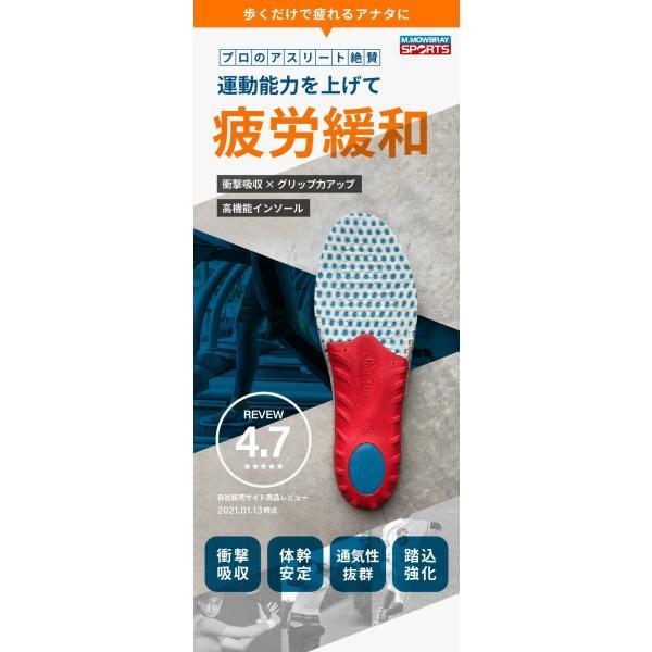 中敷き インソール M.MOWBRAY SPORTS ENERGYα エナジーアルファ ゴルフ 野球 ソフトボール テニス resources-shoecare 02