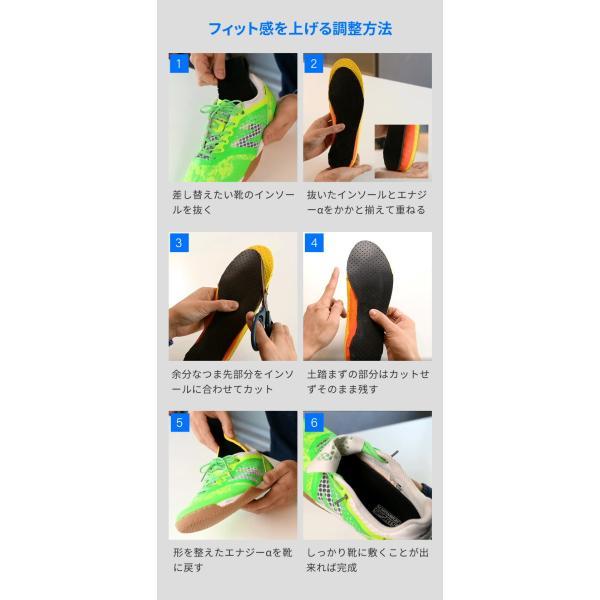 中敷き インソール M.MOWBRAY SPORTS ENERGYα エナジーアルファ ゴルフ 野球 ソフトボール テニス resources-shoecare 09